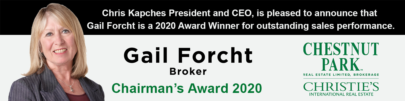 Gail Forcht 2020 Chairman Award